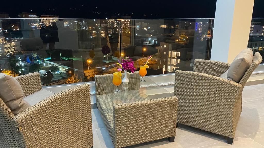 6 Milje hotel Ksamil junior suite room